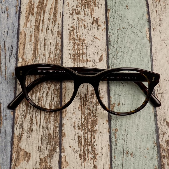 9ebdee1acb3 Burberry Accessories - Frame Only Burberry B2194 Eyeglasses ERP579